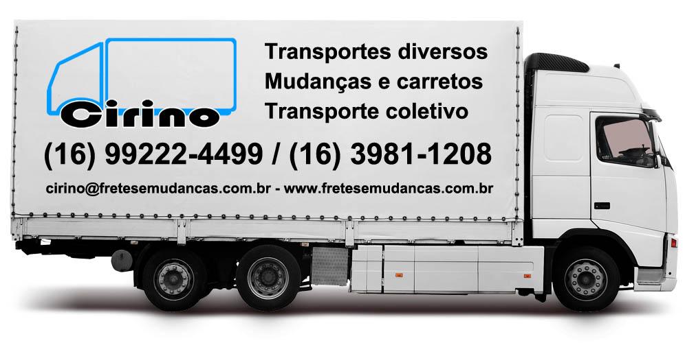 Mudanças, Fretes, Transportes e Carretos em Jaboticabal