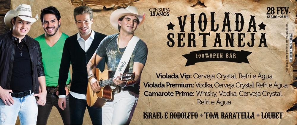 Violada Sertaneja 28/02/2015
